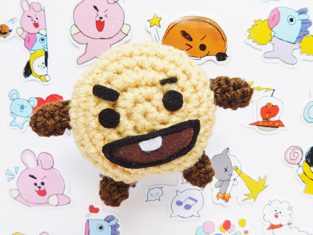 BT21 Shooky Plush