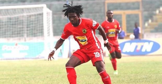 Asante Kotoko striker Yacouba Songne
