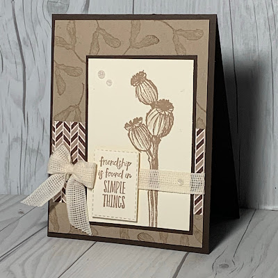 Friendship Card using Enjoy the Moment Stamp Set