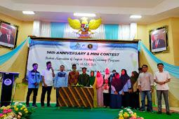 Gemilang Puncak Ajang Mini Contest, Warnai Anniversary TBI ke-14