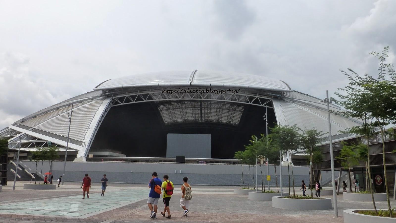 Alicesg Singaporemyhome Singapore Sports Hub The New