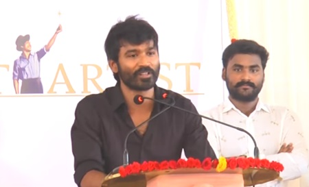 Working with Sean Roldon is gift to me – Dhanush | Neruppu Da Audio Launch