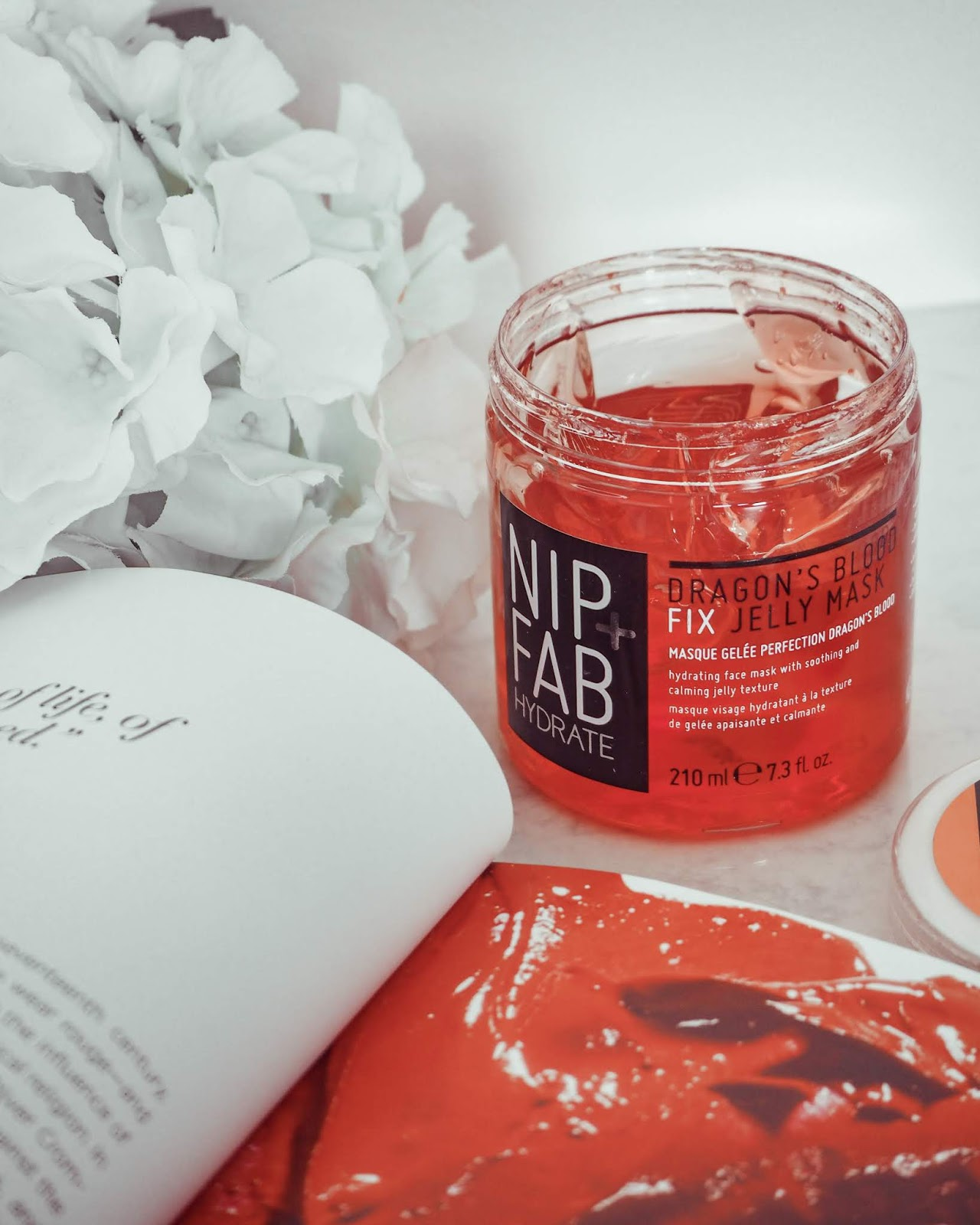 NIP+FAB Dragons Blood Fix Jelly Mask.