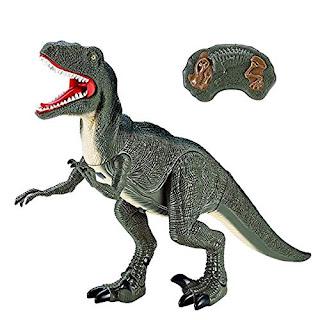 Rugido-algunos Luz T Rex Dinosaurio Figura Estatuilla De Juguete Luz de Noche en Caja De Regalo