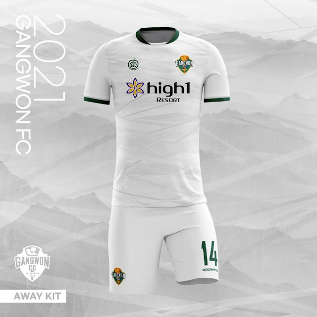 Gangwon FC 2021 Kits