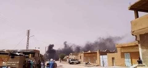 احتجاجات الطوارق  تين زواتين الجزائر