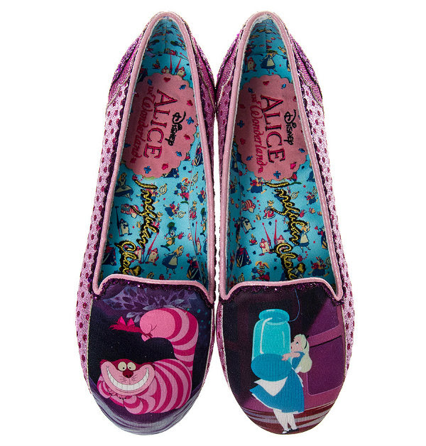 Irregular Choice Disney Alice In Wonderland here's a riddle