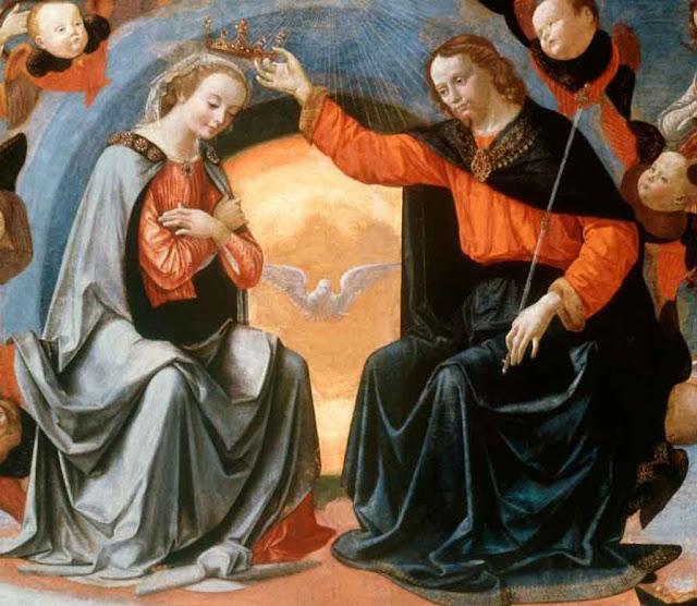 Couronnement de la Vierge.