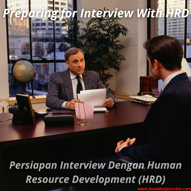 Preparing For Interview With Human Resource Development (HRD)