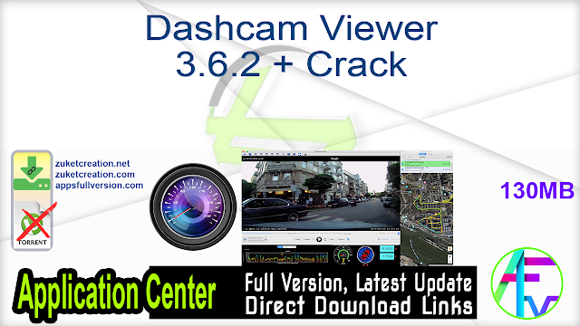 Dashcam Viewer 3.6.2 + Crack