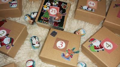 Advent Xmas calendar - Ημερολόγιο Χριστουγέννων