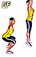 variasi gerakan squat jump