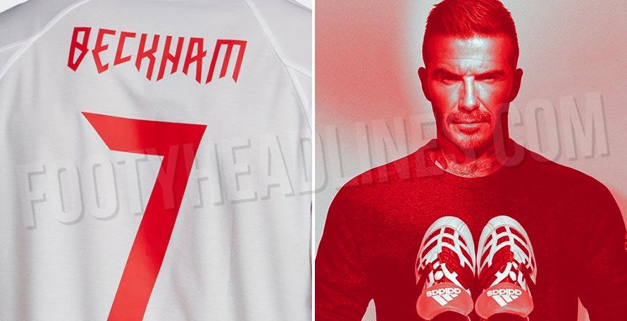 Adidas Predator David Beckham 2019 Jersey Collection Leaked