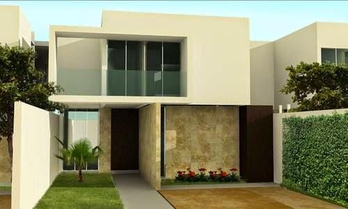 Fachadas minimalistas for Casa minimalistas