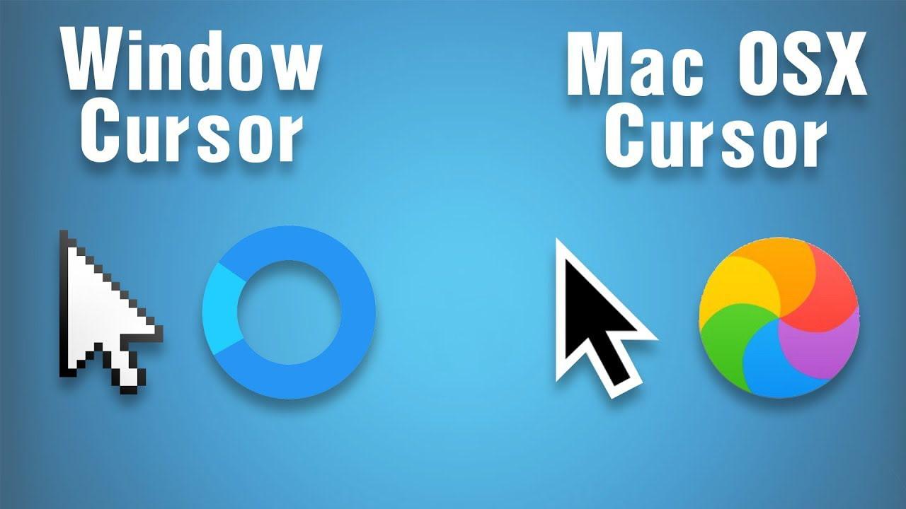 como descargar el cursor de Apple macOS para Windows 10