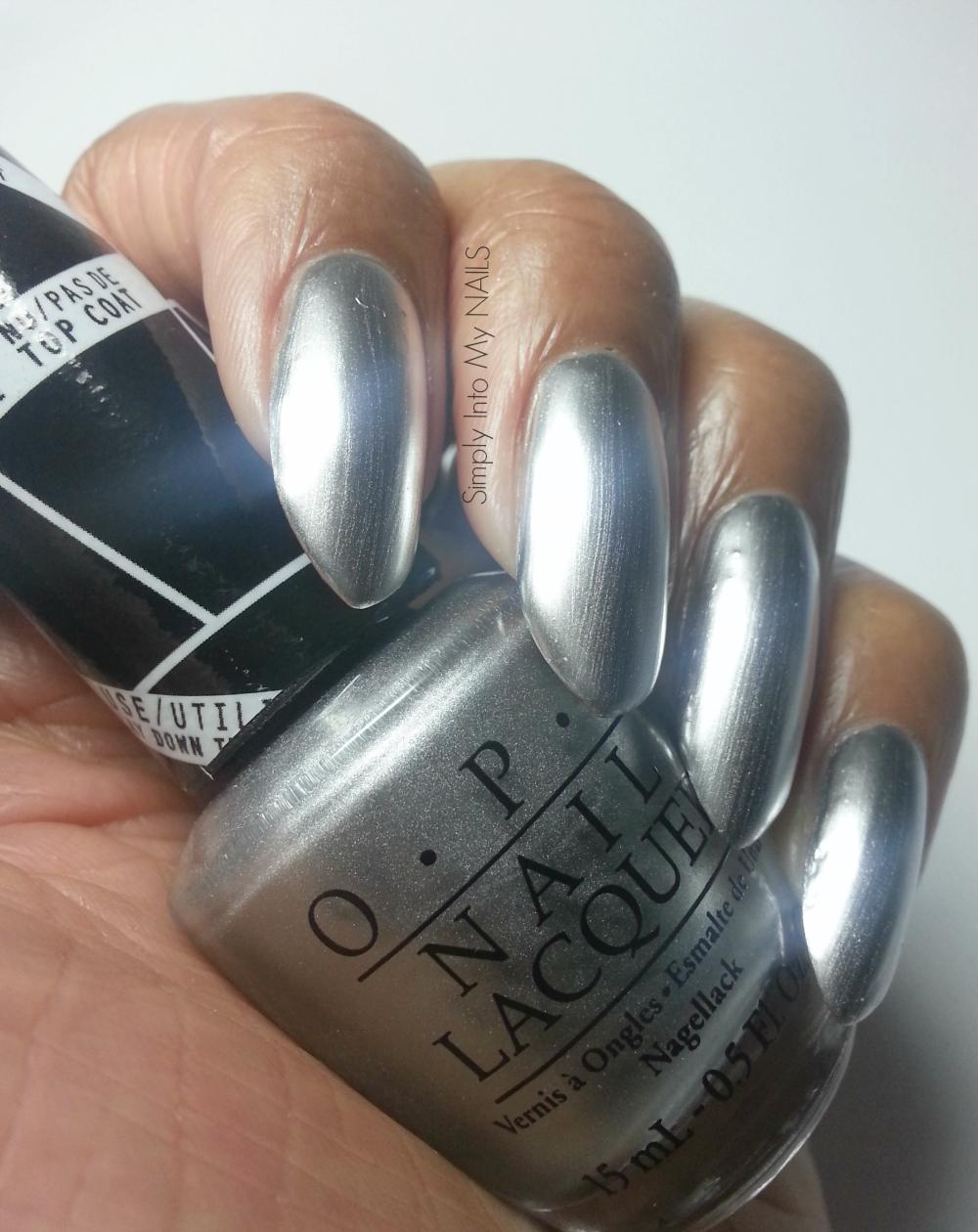 My Nail Polish Obsession My Birthday Nails: Push & Shove By OPI