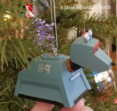 ornament of K-9 from Doctor Who