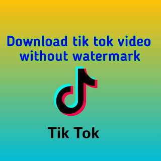 How to download tiktok video without watermark?|tiktok video download without watermark