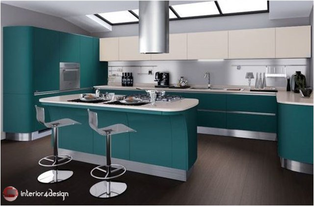Colorful Kitchen Designs 11