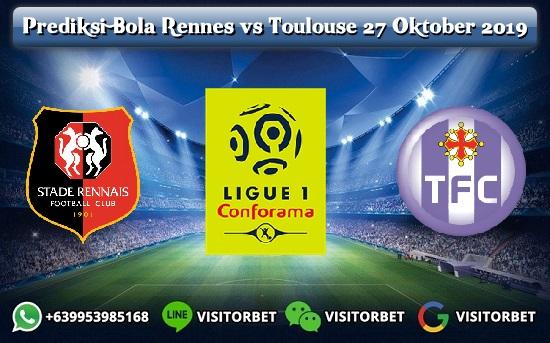 Prediksi Skor Rennes vs Toulouse 27 Oktober 2019