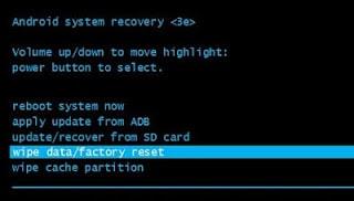 Como restablecer de fabrica un Galaxy J4