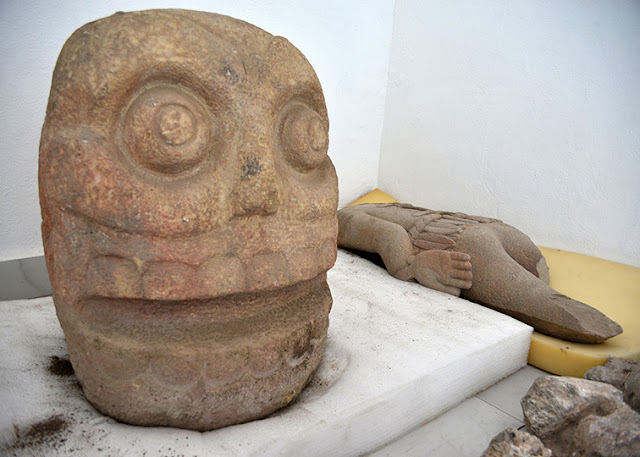 Archaeologists find Mexico temple to god of skinning sacrifices