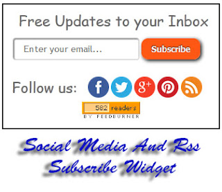 In this tutorial im gonna explicate how to add together Social Media And Rss Subscribe Widget Social Media And Rss Subscribe Widget For Blogger