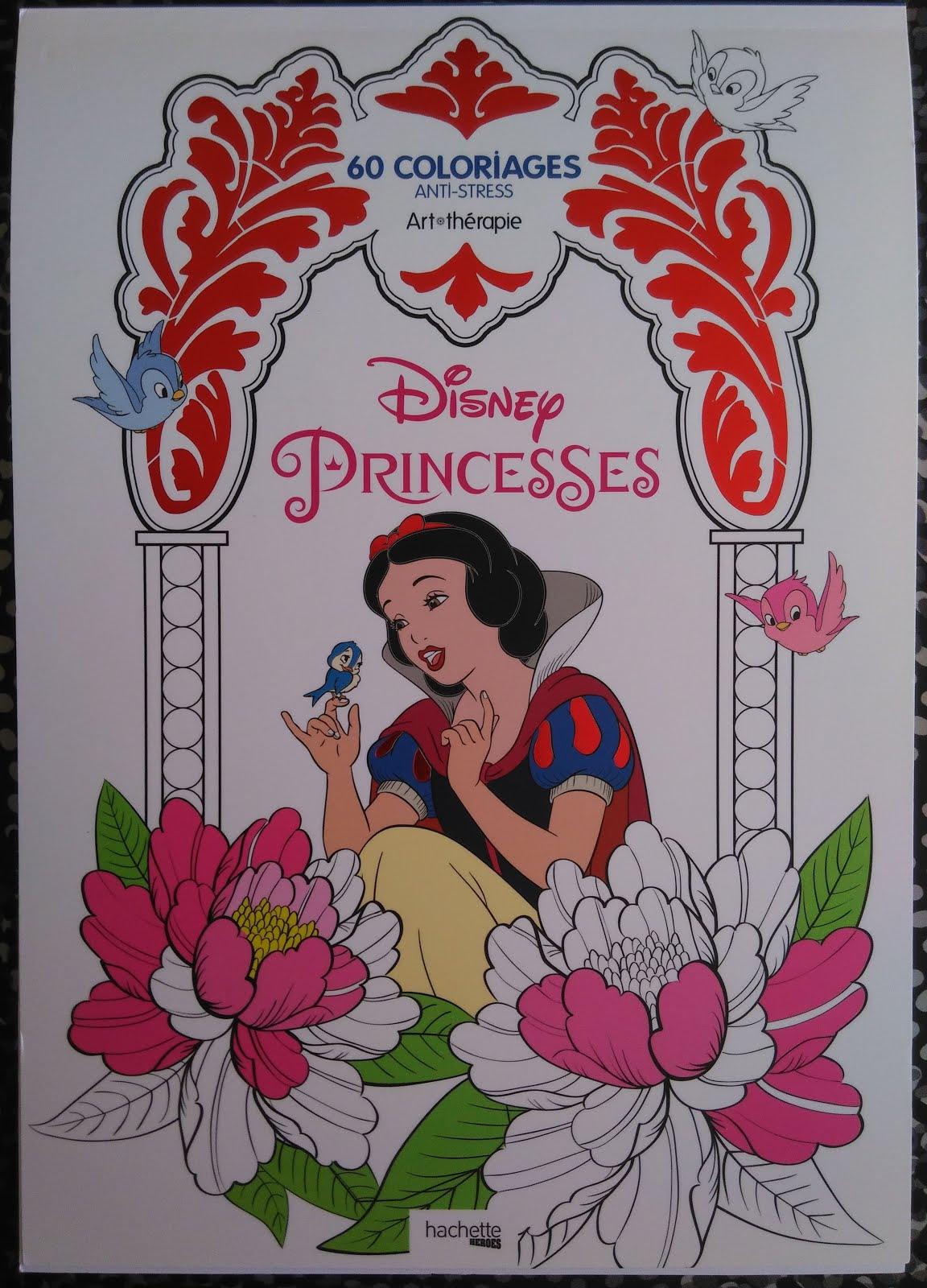 Delire De Coloriages: Hachette Heroes - Princesses Disney