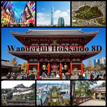 Paket Wisata Wanderful Hokkaido 8D