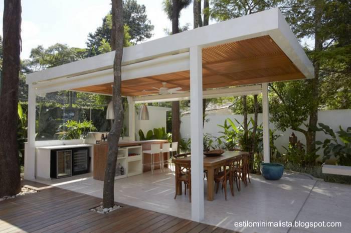 Arquitectura de casas los exteriores de las viviendas for Casa quinchos modernos fotos