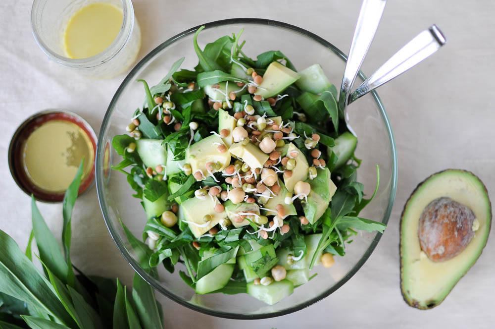 Arugula Herb Salad