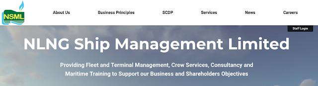 NLNG Ship Management Limited Recruitment Portal