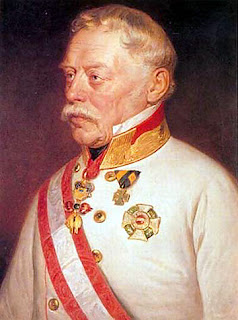Marshall Josef Radetzky and his troops were driven out of Milan