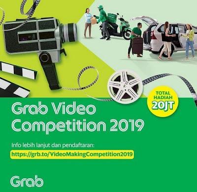 Kontes Grab Video Competition Berhadiah Total 20 Juta Rupiah