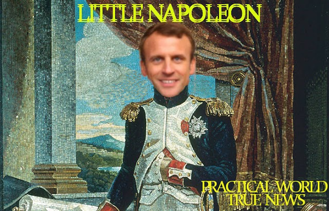 #Macron: Shut up boys ! Don't talk about #France government ! You're going to General Directorate for Internal Security (DGSI)