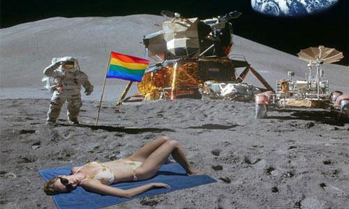 hewan yang pernah ke luar angkasa