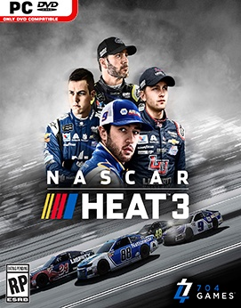 Nascar Heat 3 Torrent torrent download capa