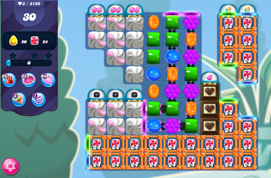 Candy Crush Saga level 8168