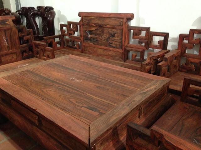 bộ bàn ghế gỗ trắc đỏ