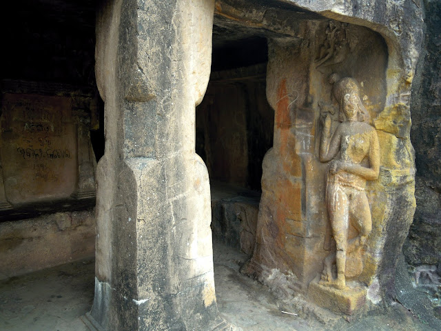 The Jaya-Vijaya cave, Udayagiri, Bhubaneshwar