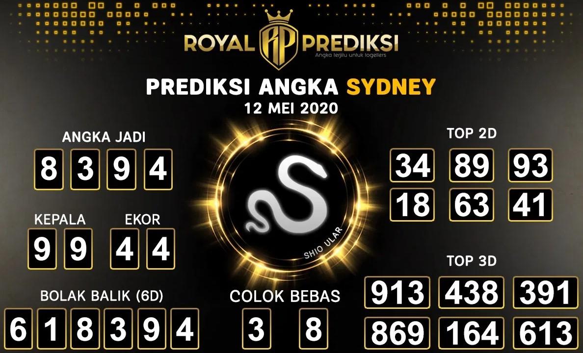Prediksi Togel Sydney Selasa 12 Mei 2020 - Royal Prediksi Sydney