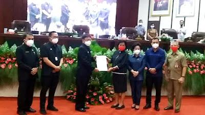 AA-RS Hadiri 3 Agenda Paripurna DPRD Manado