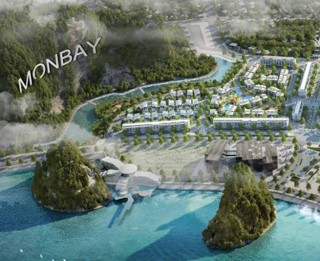 Cảnh quan dự án Mon Bay