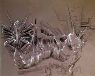Unused ALIENS Concept Art by James Cameron and Stan ...