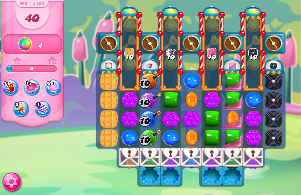 Candy Crush Saga level 8106