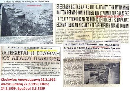 Ασυνήθιστη άμπωτη στην Ελλάδα και παγκοσμίως : Παρόμοιο φαινόμενο συνέβη και το 1959