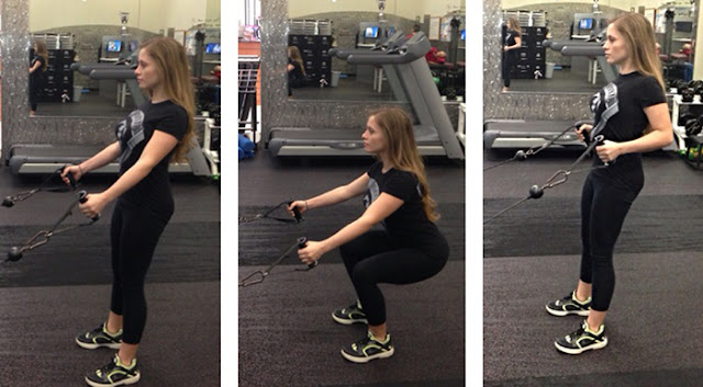 How To Do Perfect Cable Machine Squat Exercise?