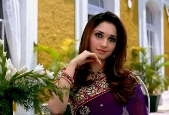 Tamanna in saree ad photoshoot ~ South Actress mp3