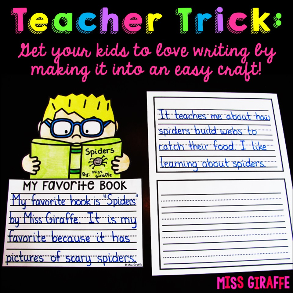 medium resolution of Miss Giraffe's Class: How to Make Writing Fun for 1st Graders