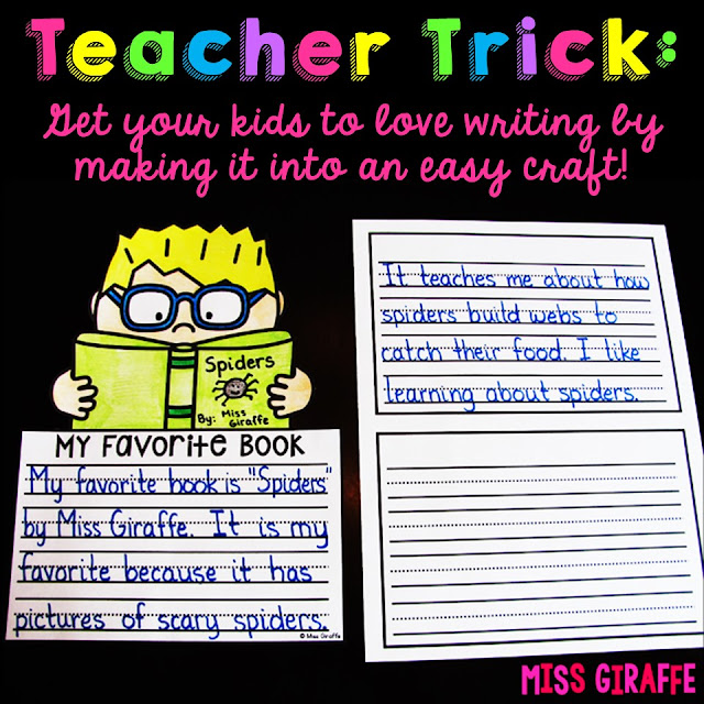Making writing fun elementary tips and ideas